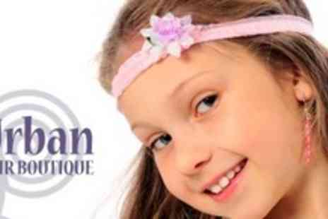 Urban Hair Boutique - Childrens Princess Makeover - Save 56%