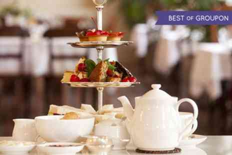 Glendoick Garden Centre - Afternoon Tea with Optional Glass of Strawberry Wine for Two - Save 25%