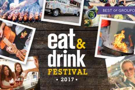 Eat And Drink Festival - Two Tickets to Eat and Drink Festival Scotland on 26 to 29 May - Save 36%