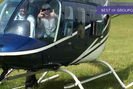 Central Helicopters - Six Mile Helicopter Flight over Greenlands Farm or Hawkshaw Farm - Save 0%