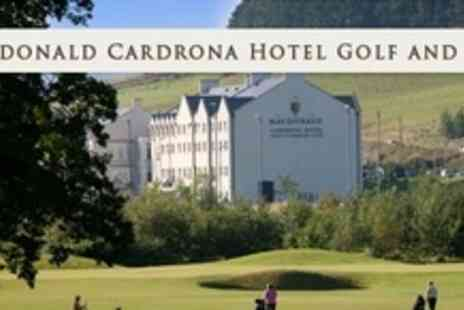 Macdonald Cardrona Hotel - Round of Golf and 50 Driving Range Balls Plus Refreshments For One - Save 53%