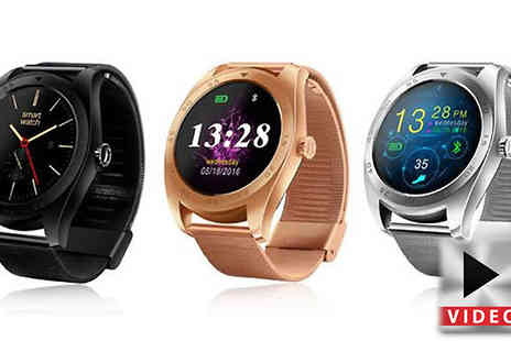 Black Sheep - iPhone and Android Smartwatch Three Colours - Save 49%