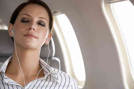 The D4 Clinic - Audio fear of flying hypnotherapy programme - Save 89%