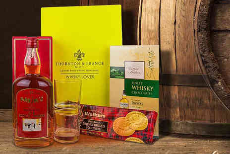 First4Hampers - Fathers Day whisky hamper including chocolates, shortbread and more - Save 52%