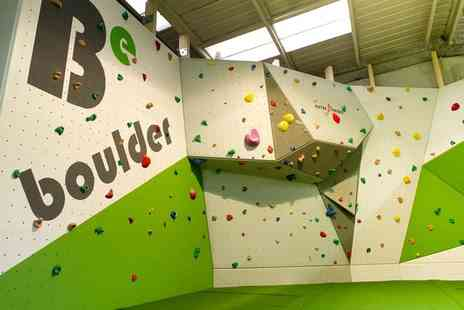 Be Boulder - Climbing session for one, two or four - Save 50%