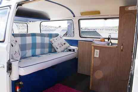 VDubAndAway - Three night weekend VW campervan hire for up to four - Save 58%