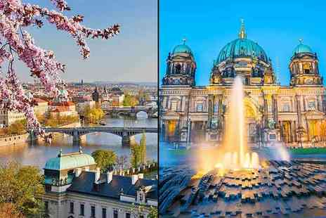 Tour Center - Four night Berlin and Prague break with flights, train transfers and optional tours - Save 47%