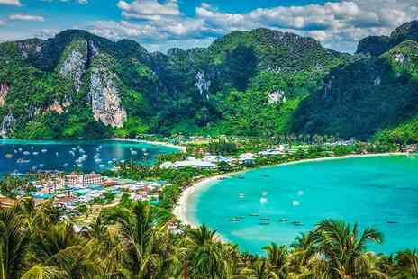 Great Pacific Travels - Ten night Thailand trip with 8 nights in Phuket and 2 nights on Phi Phi Island, with breakfast and flights - Save 20%