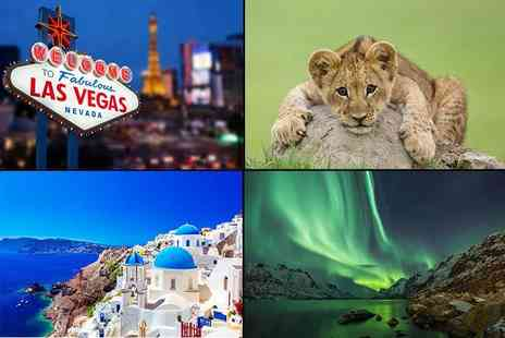 Weekender Breaks - Mystery Getaway Deal  for Vuyani South African Safari, three night all inclusive Greece, Switzerland Bernina Express, three night New York with flights and more - Save 78%