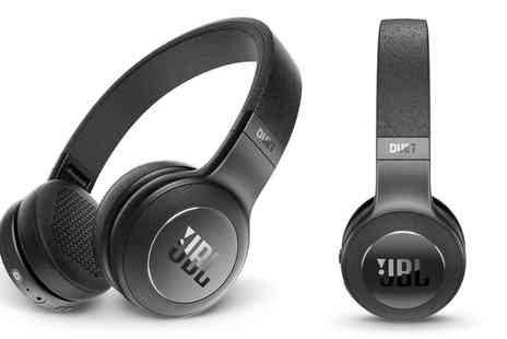 Groupon Goods Global GmbH - JBL Duet Bluetooth Headphones Black - Save 47%