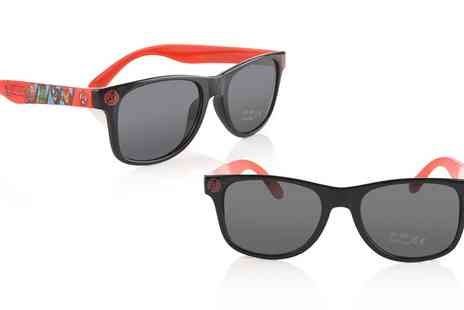 Groupon Goods Global GmbH - One or Two Pairs of Avengers Themed Red Sunglasses - Save 0%
