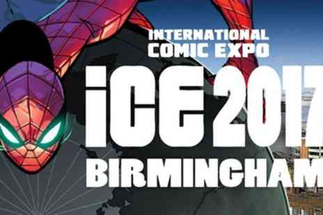 The International Comic Expo 2017 - Ticket to The International Comic Expo 2017 on 9 September - Save 50%