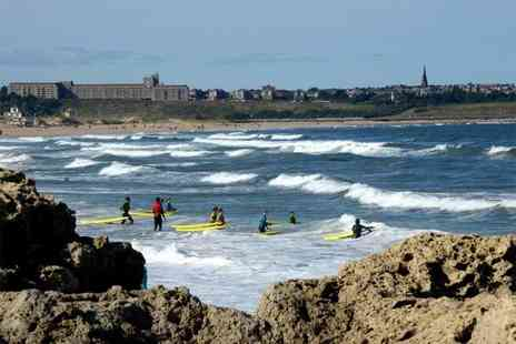 South Shields Surf School - Two hour surf lesson and additional three hour equipment hire - Save 50%