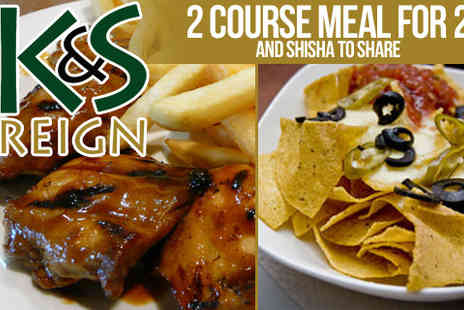 K&S Reign - Experience the exotic with meal for two - Save 50%
