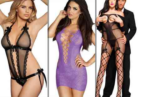 Who Runs the World - Choice of lingerie with either couples dice or juicy lube - Save 74%