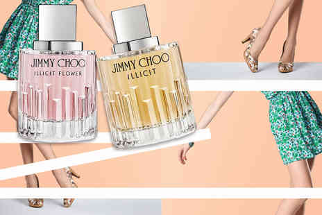 Deals Direct - 40ml or 60ml bottle of Jimmy Choo Illicit EDP or 40ml or 60ml bottle of Jimmy Choo Illicit Flower EDT - Save 43%