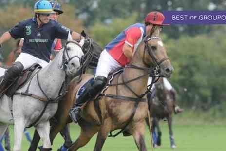 Polo For Heroes - Ticket to Polo for Heroes on 22 July - Save 25%