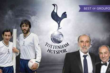 Lashings Sports Bar & Restaurant - An Evening with Ossie Ardiles and Ricky Villa with Meal for One or Two on 8 June - Save 32%