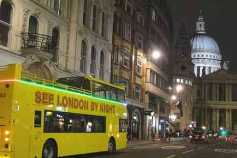 Buyagift - London by Night bus tour for two - Save 0%