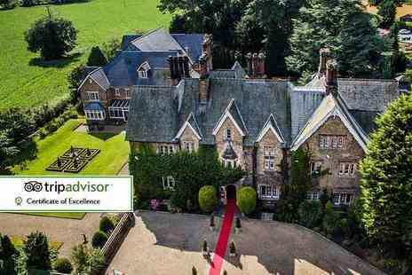 The Parsonage Hotel and Spa - Spa day for one with access to all facilities, one treatment and a glass of Bucks Fizz - Save 43%