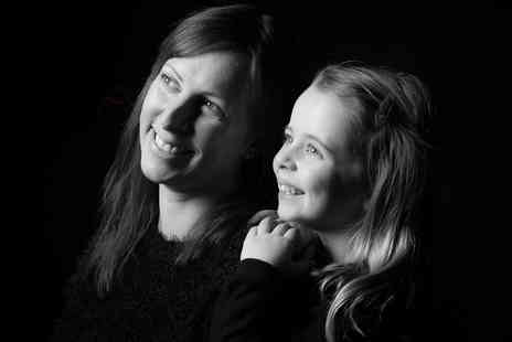 "Memories Portrait Photographers - Mother and daughter photoshoot including 10 5"" x 7"" prints, two keyrings and £100 voucher - Save 0%"