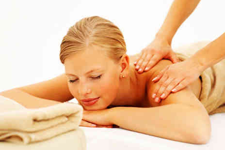 Revitalize - £10 for a choice of one hour massages worth £40 - Save 75%