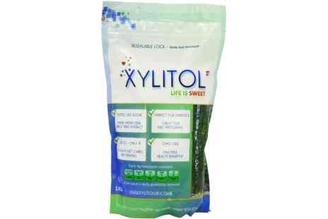 Groupon Goods Global GmbH - 1kg of Xylitol Natural Sweetener - Save 25%