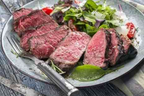 Muscle Foods - 8, 12 or 16 6 To 7 oz 35 Day Matured Brazilian Strip Steaks - Save 27%