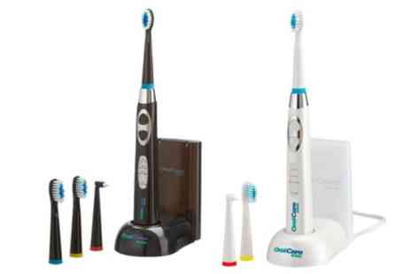 Groupon Goods Global GmbH - Rechargeable Oral Care Sonic Toothbrush - Save 60%