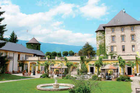 Le Chateau de Candie - Four Star Romantic 14th Century Chateau Escape For Two - Save 36%