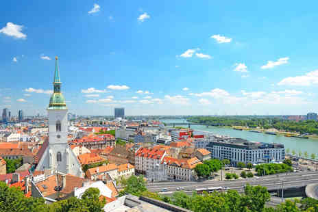 Sheraton Bratislava - Five Star World Class Bratislava Hotel Stay For Two on the Bank of the Danube - Save 50%