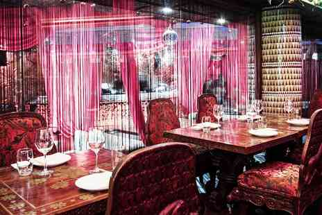 Gilgamesh Restaurant Bar & Lounge - Meal & Cocktail for 2 at Flamboyant Camden Venue - Save 63%