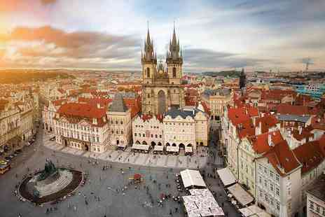 Great Pacific Travels - Two night Prague getaway including breakfast, Prosecco, flights and a river cruise - Save 33%