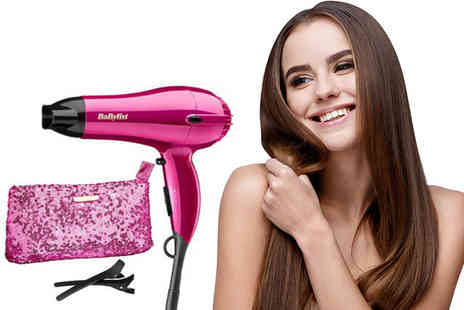 Electronics and Gadgets Direct - Babyliss 2000 limited edition hair dryer set - Save 36%