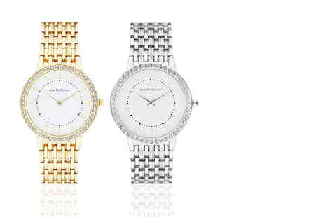 Deals Direct - Jean Bellecour womens watch choose either silver or gold - Save 0%