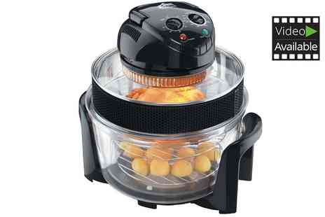 Groupon Goods Global GmbH - 1400w and 12L Halogen Oven - Save 61%