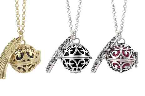 Groupon Goods Global GmbH - Guardian Angel Soundball Necklace in Choice of Colour - Save 91%
