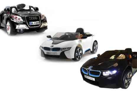 Groupon Goods Global GmbH - Licensed Electric Ride On Car in Choice of Style With Free Delivery - Save 37%