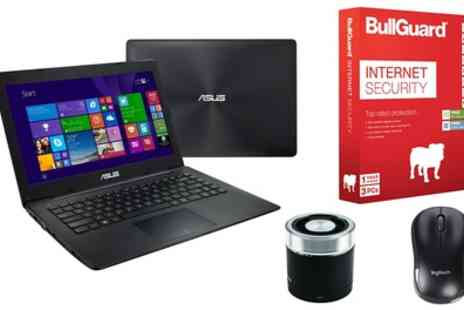 Laptop Outlet - Refurbished Asus X453MA-BING-WX315B 14 Inch Laptop with Optional Anti Virus, Mouse, Case or Speaker With Free Delivery - Save 0%