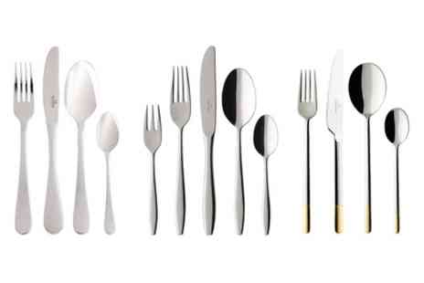Groupon Goods Global GmbH - Villeroy and Boch 30 or 60 piece Cutlery - Save 75%