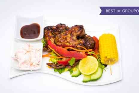 Bayhams Jazz Bar Restaurant - Caribbean Meal with Sides for Up to Three - Save 42%
