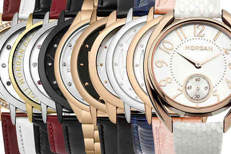 Brand Logic Europe - Morgan Watch Selection Choose 11 Designs - Save 72%