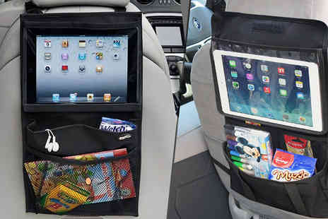 We can make it - iPad Compatible Car Seat Organiser - Save 68%