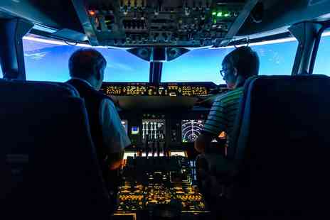 Flight Simulators Midlands - Motion Flight Simulator Experience - Save 40%
