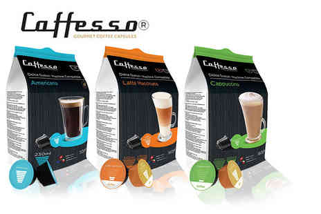 UK Business Supplies - 16 Caffesso coffee pods - Save 72%