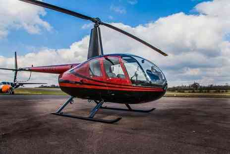 Flying Pig Helicopters - Unforgettable helicopter flying experience for two  - Save 30%