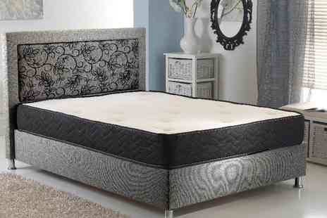 My Mattress Online - Single SleepWell Orthopaedic Memory Foam Sprung Mattress - Save 84%