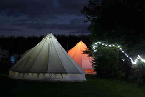 The Three Horseshoes - Two or four night glamping trip for up to six - Save 46%