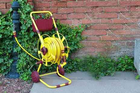 ViVo Technologies - 60m hose reel with stand - Save 58%