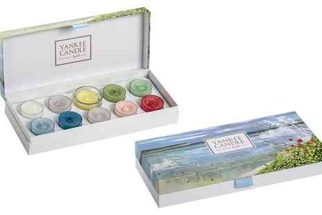 Groupon Goods Global GmbH - Yankee Candle Coastal Living Artists Pallet Gift Set - Save 47%